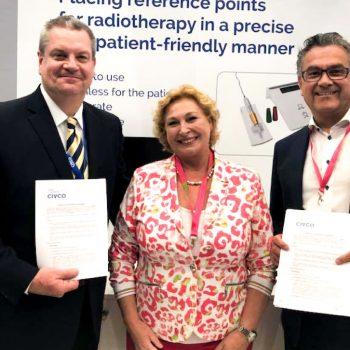 distributiecontract met CIVCO Radiotherapy
